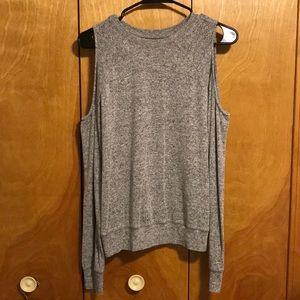Open shoulder Abercrombie sweater